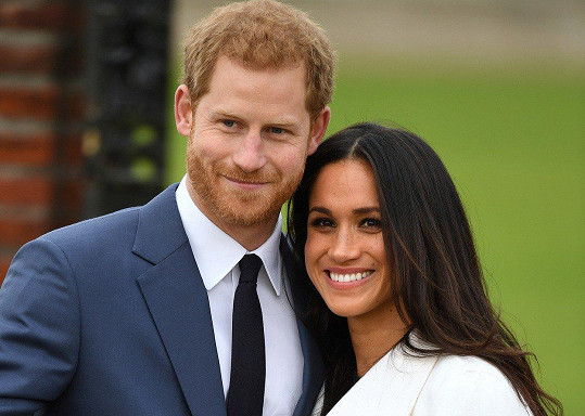 Meghan se v sobotu stane manželkou Harryho.