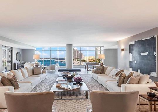 Bydlení nabízí luxusní výhledy.
