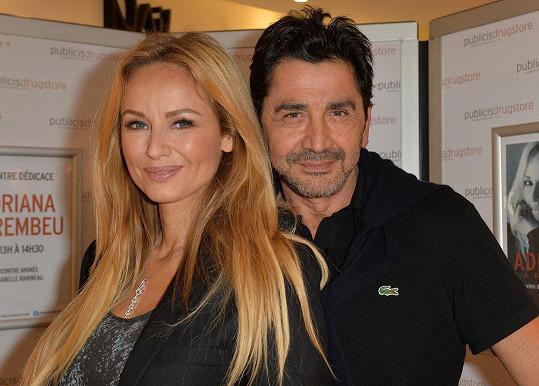 Adriana s manželem Aramem Ohanianem