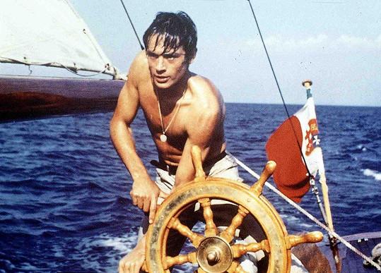 Alain Delon ve filmu V plném slunci (1960)