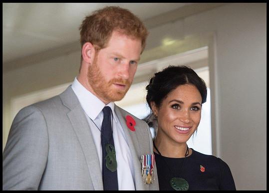 Harry a Meghan míří zpátky do Londýna.