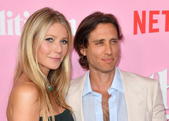 Gwyneth Paltrow s manželem Bradem Falchukem