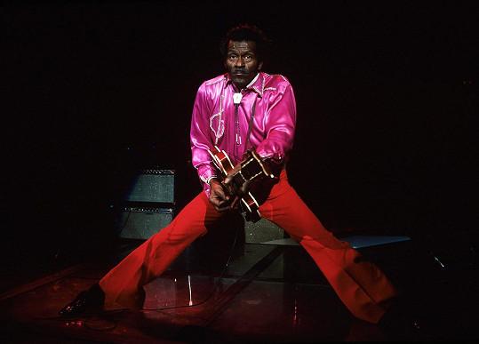 Chuck Berry v roce 1983