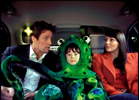 Martine a Hugh ve filmu Láska nebeská (2003)