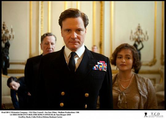 Colin Firth se naučil pro roli krále Jiřího VI. v Králově řeči koktat.