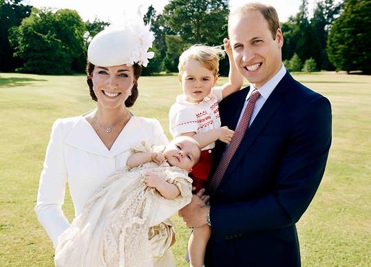 Kate a William mají dokonalou rodinku.