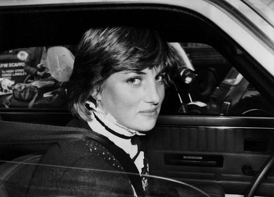 Princezna Diana krátce před svatbou s následníkem britského trůnu