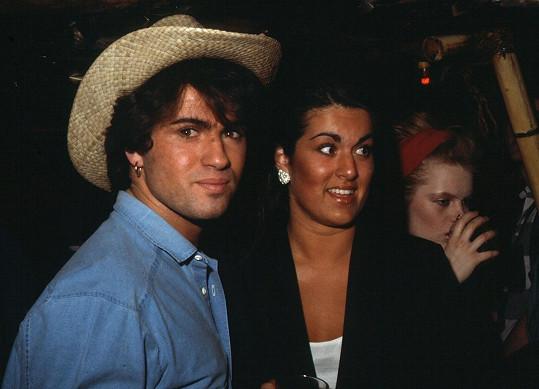 George Michael se sestrou Melanií, která zdědí velkou část jeho jmění.