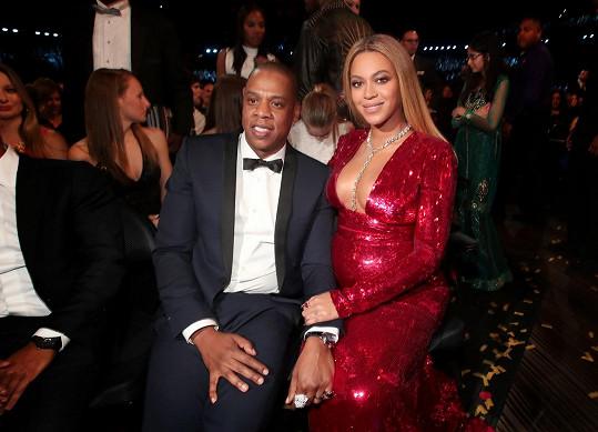 Beyoncé a Jay-Z na nedělních cenách Grammy