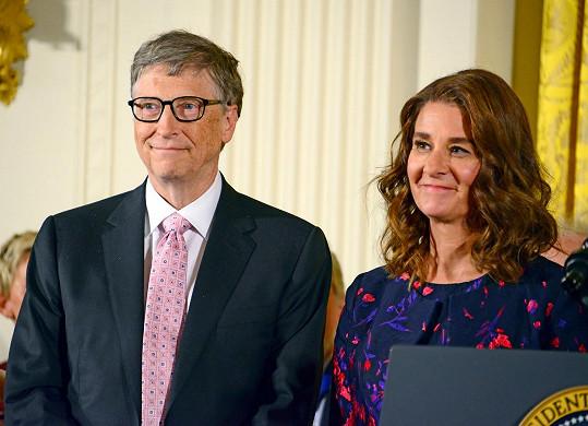 Bill a Melinda Gatesovi oznámili rozchod po 27 manželských letech.
