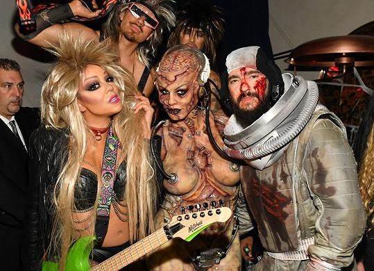 Fotka s pořadatelkou večírku Heidi Klum nesmí chybět.