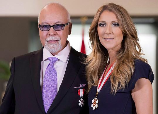 Celine Dion v domě bydlela s manželem a jejich dětmi.