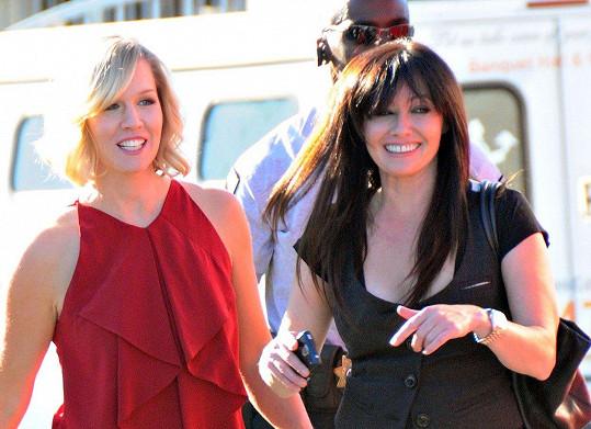 Jennie Garth a Shannen Doherty spolu kdysi dost bojovaly. Jedna z hádek málem skončila rvačkou.