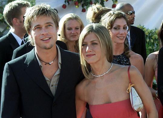 Aniston svého bývalého za výkon v seriálu pochválila.
