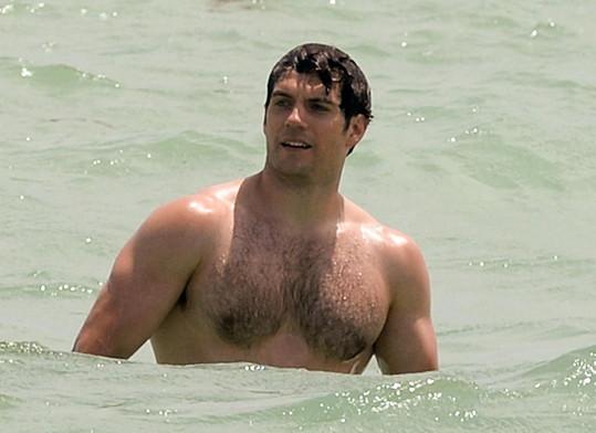 Takhle vypadá Superman v civilu.