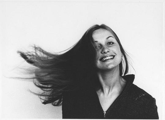 Eliška Balzerová v roce 1974