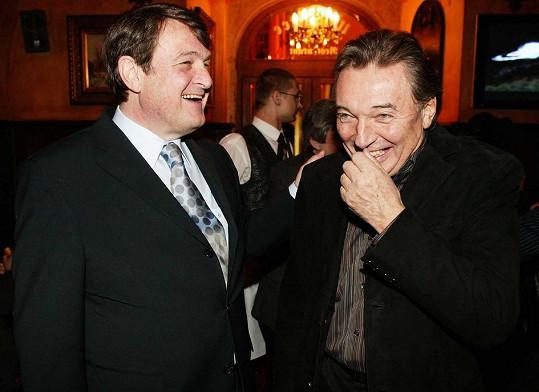 S Karlem Gottem Štaidla pojilo velké přátelství (2005).