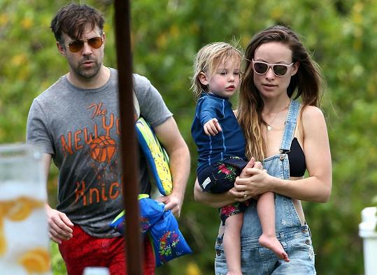 Olivia Wilde a Jason Sudeikis mají už dvouletého syna Otise.
