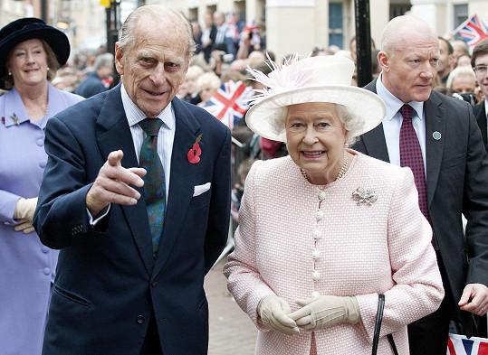 Princ Philip s královnou Alžbětou II.
