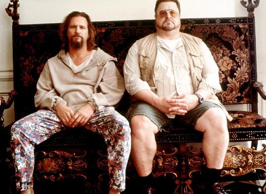 Jeff Bridges a John Goodman (vpravo) ve filmu Big Lebowski