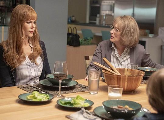Ve filmu se objeví s Nicole Kidman, se kterou nedávno hrála v seriálu Sedmilhářky.