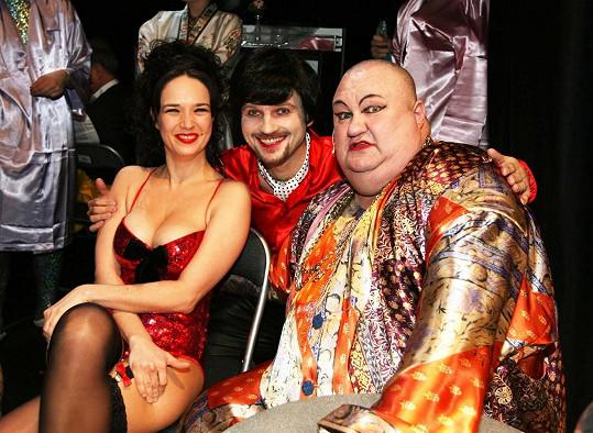 V muzikálu Ginger a Fred hrála Tereza například s Daliborem Gondíkem a Václavem Glazarem.