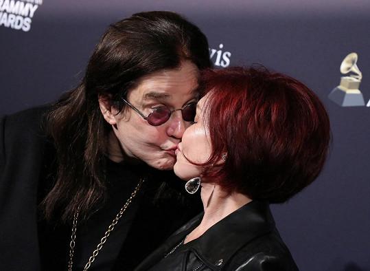 Ozzy a Sharon jsou manželé od roku 1982.