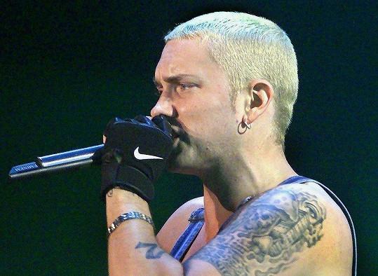 Mezi klienty slavné tatérky patří i Eminem.