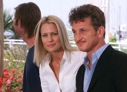 Sean Penn a Robin Wright tvořili manželský pár v letech 1996-2010.