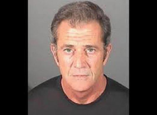 Mel Gibson má záznam kvůli domácímu násilí.