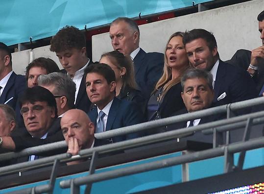 A vedle Davida Beckhama na Euru.