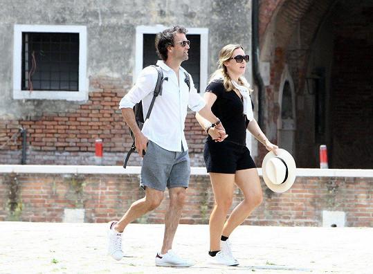 V červnu spolu navštívili Benátky.