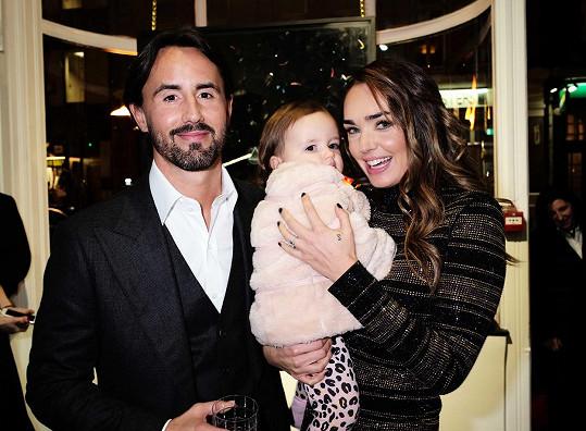 Tamara a Jay Rutland s jejich dcerou
