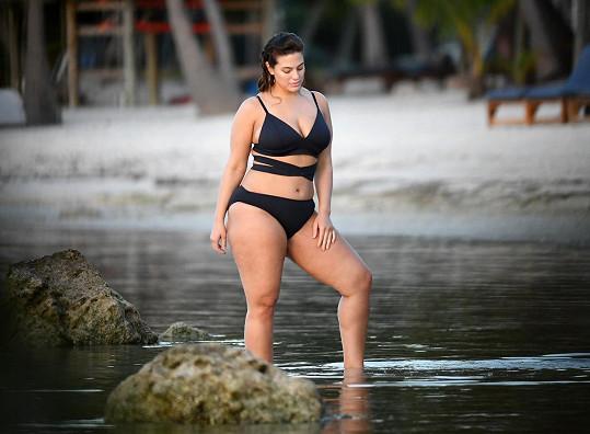 Ashley Graham se ve světě modelingu prosadila i s nadváhou.