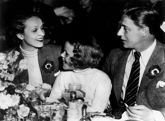 S manželem Rudolfem Sieberem a dcerkou Mariou