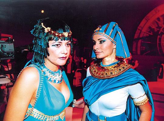 Tato fotka vznikla na podzim roku 2001 v rámci natáčení televizního silvestra.