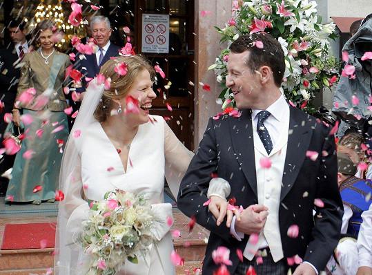 Filip a Danica vstoupili do manželství.