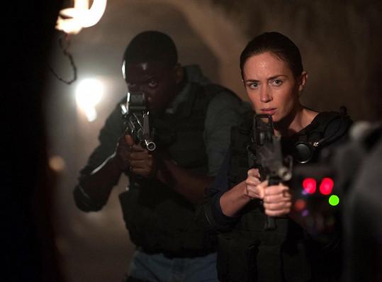Emily Blunt ve filmu Sicario: Nájemný vrah