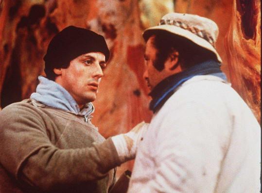 Sylvester Stallone a Burt Young v prvním Rockym (1976)