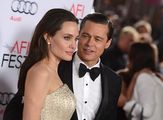 Manželství Brada a Angeliny prochází krizí.