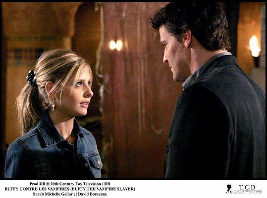 Sarah Michelle Gellar jako přemožitelka upírů Buffy