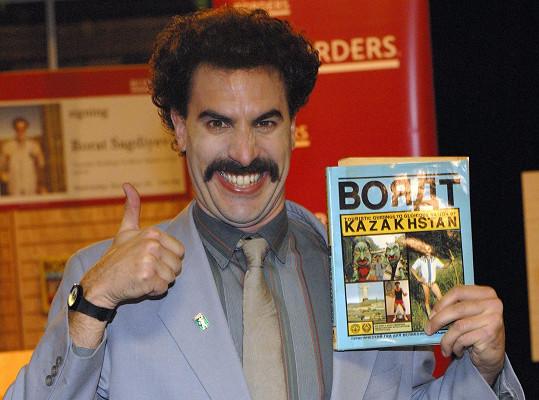 Sacha Baron Cohen za role v komedii Borat, kterou také produkoval, a dramatu Chicagský tribunál.