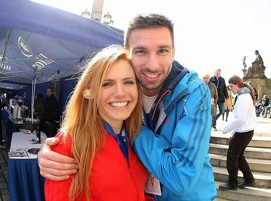 Gabriela Koukalová a Petr Koukal byli krásný pár.