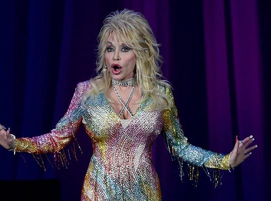 Dolly na koncertě v Nashvillu