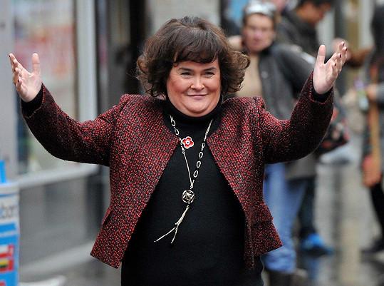 Susan Boyle by se ráda stala matkou.