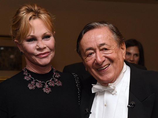 Organizátor této opulentní akce, vlivný rakouský obchodník Richard Lugner (85) byl ze slavné Melanie nadšený.