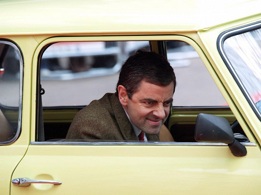 Jako Mr. Bean byl postrachem silnic.