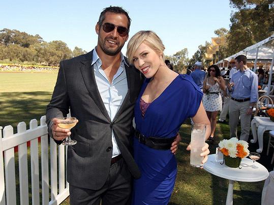 S manželem Mattem Robinsonem