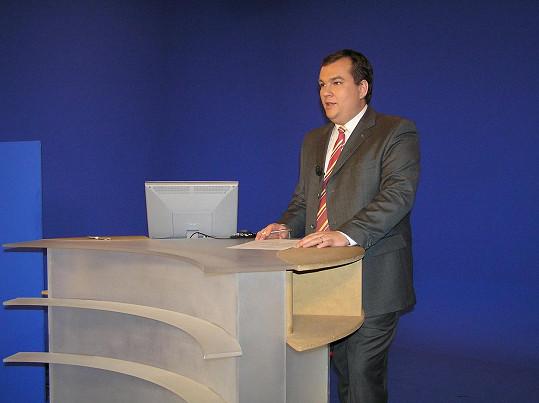 Na kolegu zavzpomínal moderátor Michal Dusík, se kterým spolupracoval nejdéle.