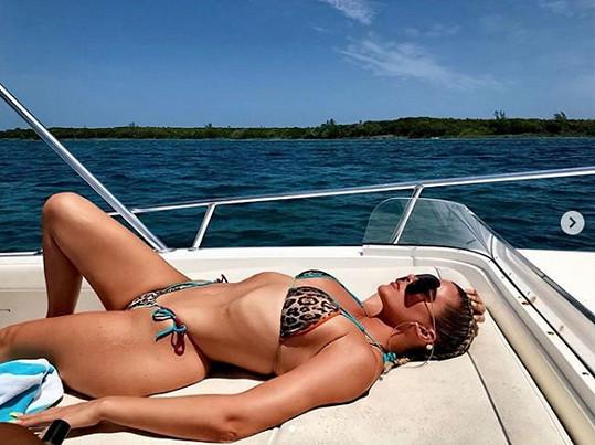 Khloé Kardashian z dovolené na Bahamách sdílela více snímků...